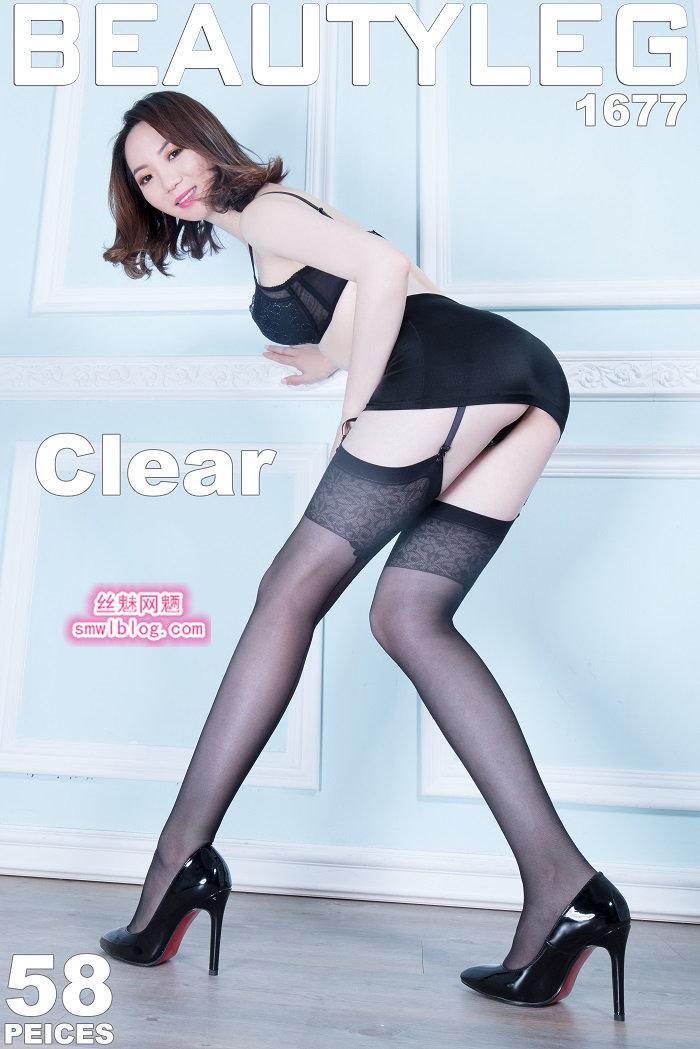 [Beautyleg]美腿寫真 2018.10.26 No.1677 Clear[58P/196M]